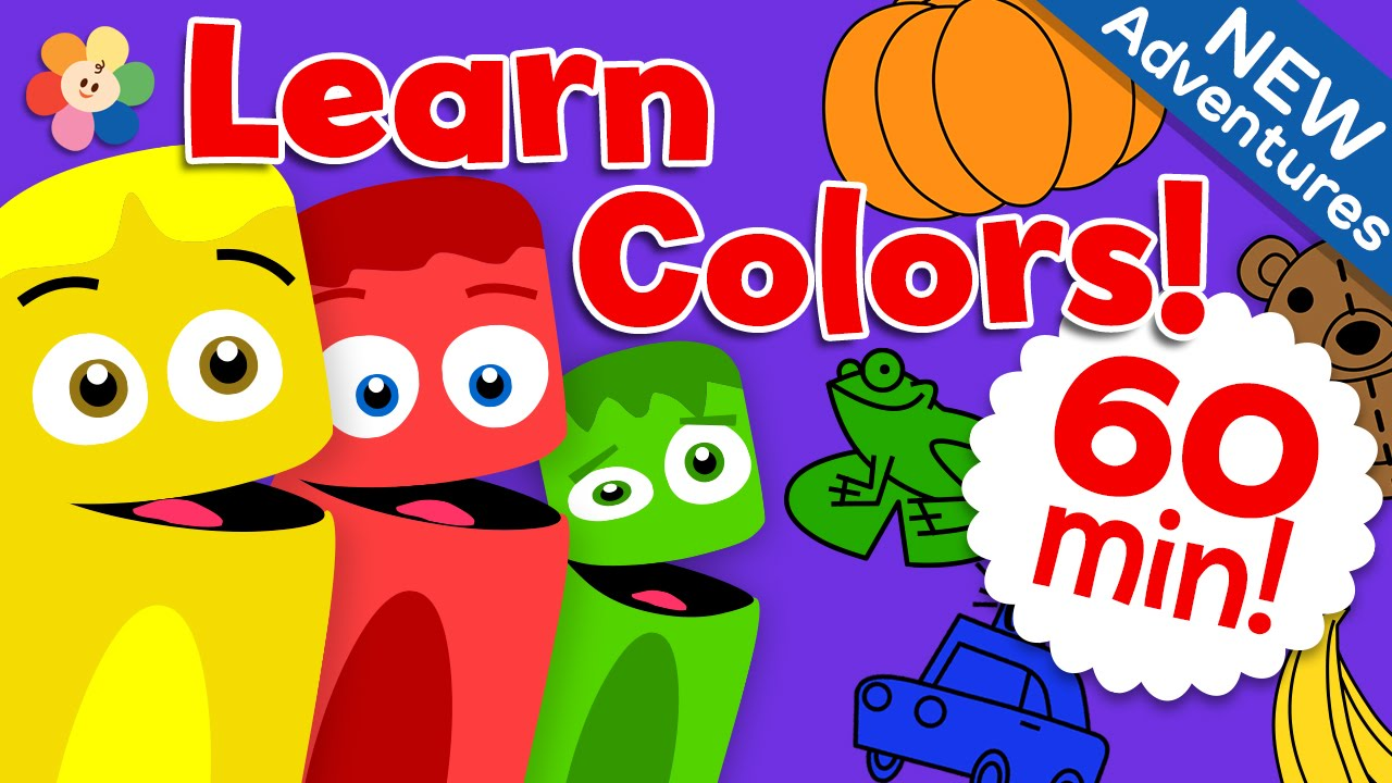 coloring nature learn the colors with beautiful nature  animals and more color crew Crayon Coloring Pages  Color Crew Coloring Pages