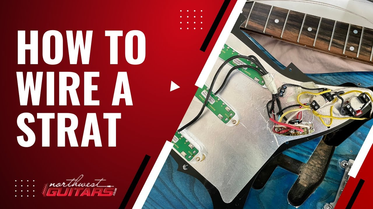 How To Wire a Stratocaster Scratchplate Tutorial Fender Stratocaster Wiring Diagram For A Longboard on