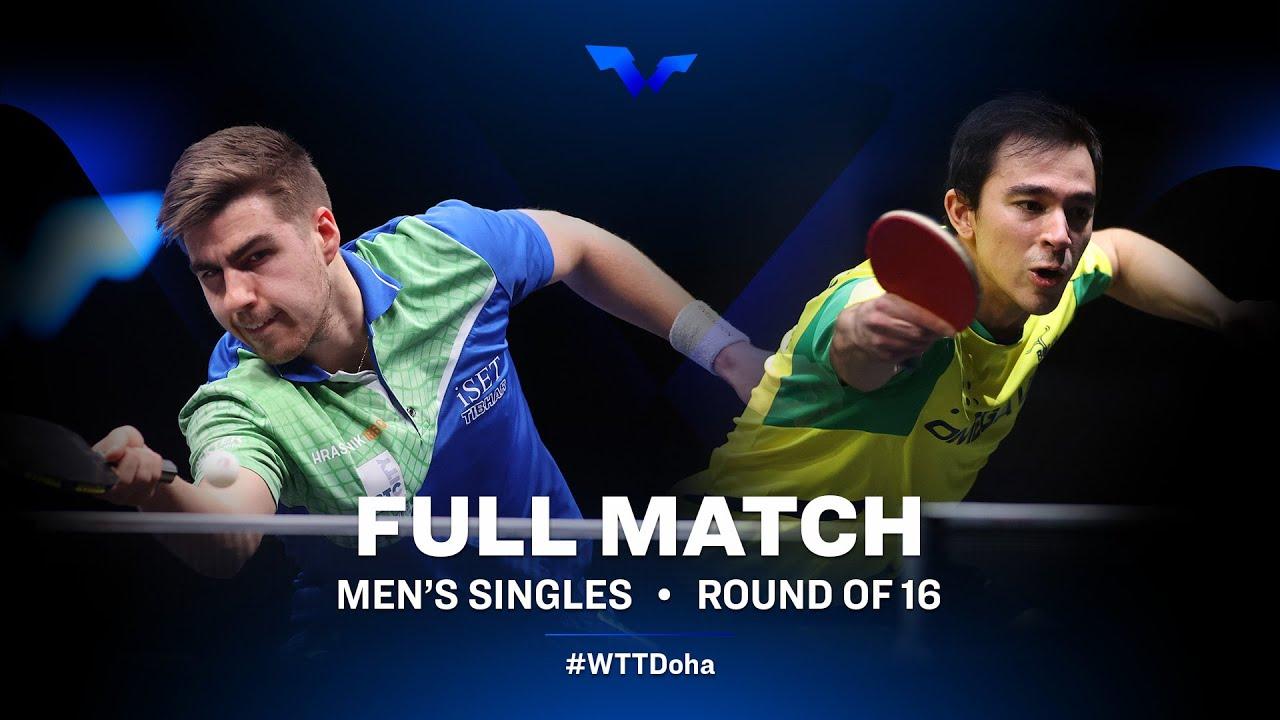 Download Darko Jorgic vs Hugo Calderano   WTT Star Contender Doha 2021 - March (FULL Match)