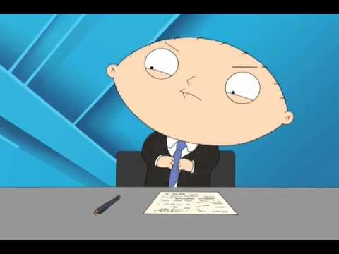 stewie is a angry reporter