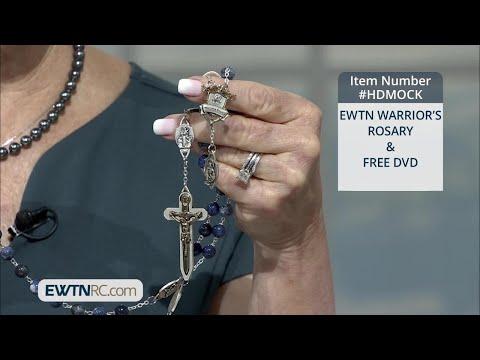 HDMOCK_EWTN WARRIOR'S ROSARY & FREE DVD