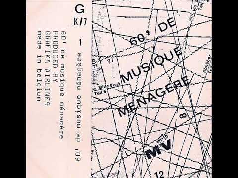 Mecanique Vegetale - 60' De Musique Ménagère (Full Cassette)