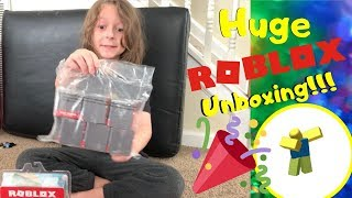 Unboxing Roblox Haul From My Birthday