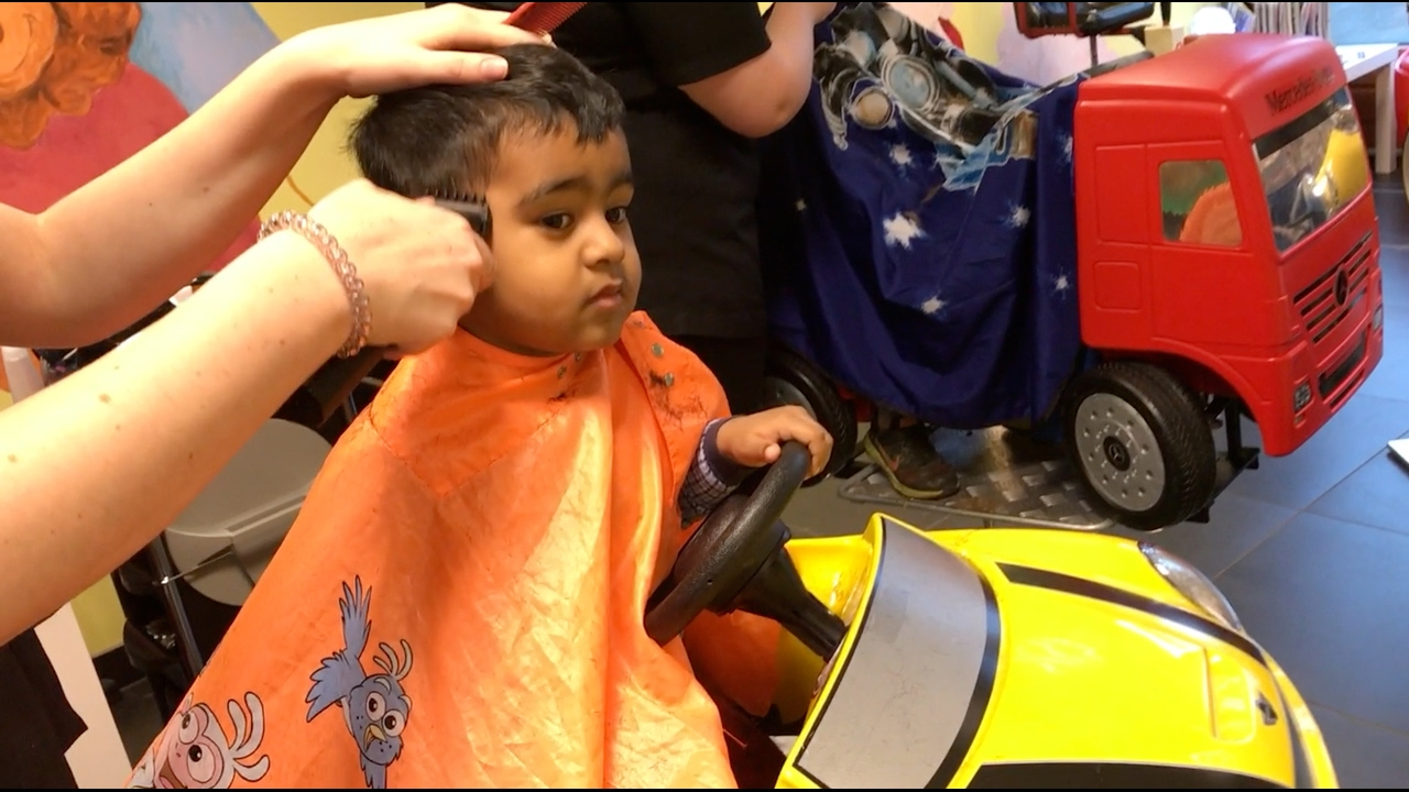Childrens Haircuts | Kids First Haircut Dora Haircut Barbershop For Kids With Childrens
