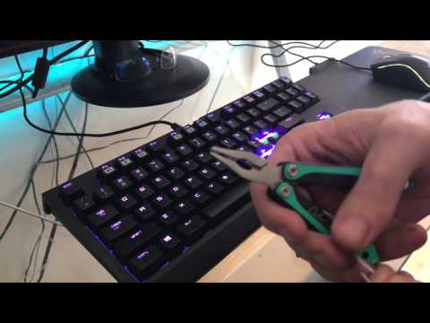 The Easiest DIY Mechanical Keycap Puller!