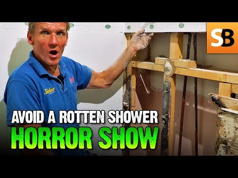 Leaking Shower Horror Show - Cowboy Plumbing