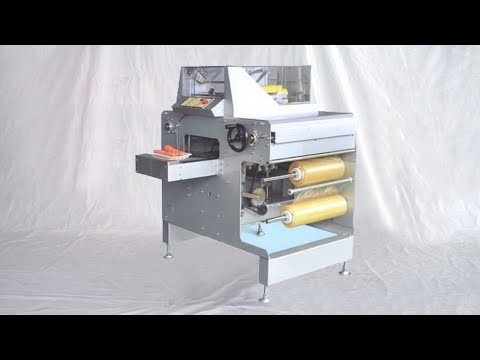Fruit Vegetable Cling Film Tray Packaging Machines Supermarket Equipment Wrapping Labeling Line