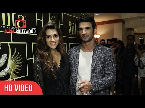 The Raabta Jodi Kriti Sanon and Sushant Singh Rajput at IIFA Voting Weekend 2017 | Raabta