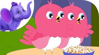 Away, Birds, Away! - Nursery Rhyme with Karaoke