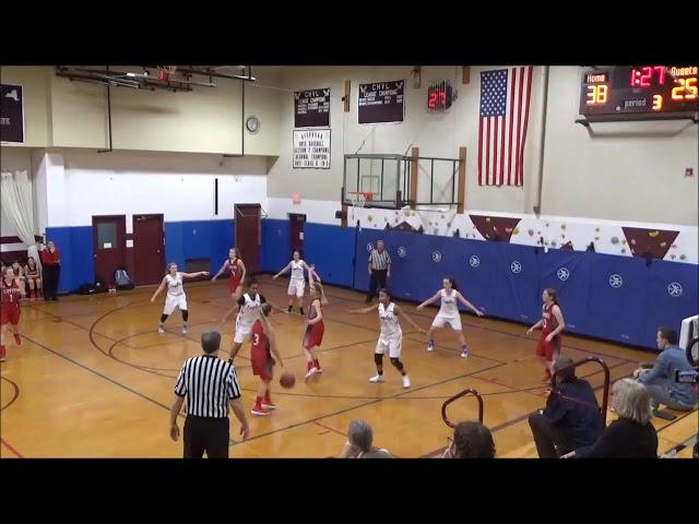 Game Highlights Girls' Varsity: Germantown 51 vs Loudonville Christian 48 (F/OT)