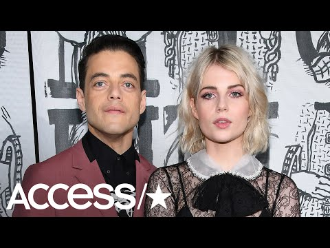 Rami Malek Confirms His Relationship With 'Bohemian Rhapsody' Co-Star Lucy Boynton