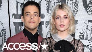 Rami Malek Confirms His Relationship With 'Bohemian Rhapsody' Co-Star Lucy Boynton