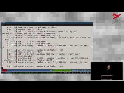 gokrazy: ein Go userland für Raspberry Pi 3 appliances (GPN17)
