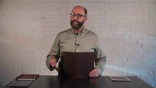 Oxford Leather iPad Pro 10.5 Case Review   Pad & Quill