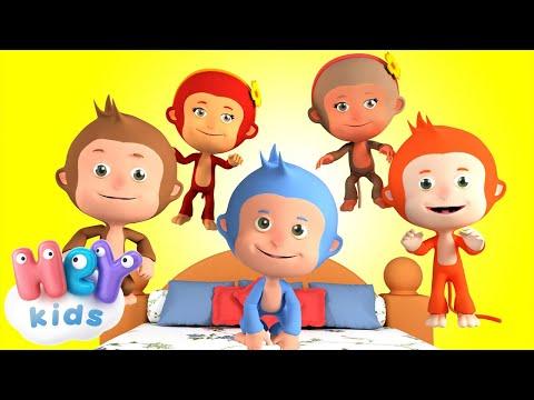 Cinque Scimmiette Le Più Belle Canzoni Per Bambini Youtube