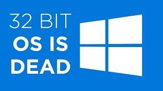 32 Bit ist offiziell tot!  - Youtube