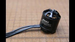 Emax MT2216 810kv brushless motor thrust test 1045 1245 3S