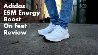 Así llamado simplemente Retirarse  Adidas ESM Energy Boost   Review   On Feet   Featured Fits - YouTube