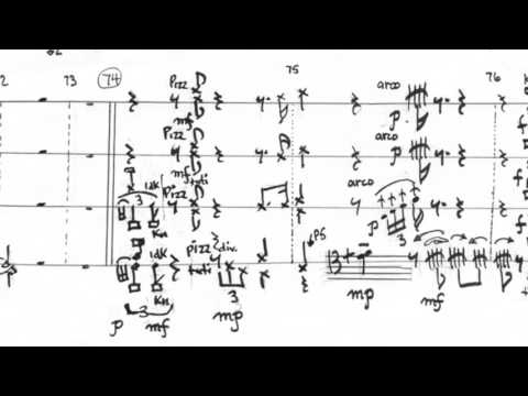 Graphic Notation and Graphic Scores (of mine): Part 2 - Music Stuff With Spock #4