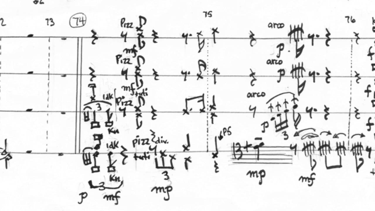 Graphic Notation and Graphic Scores (of mine): Part 2