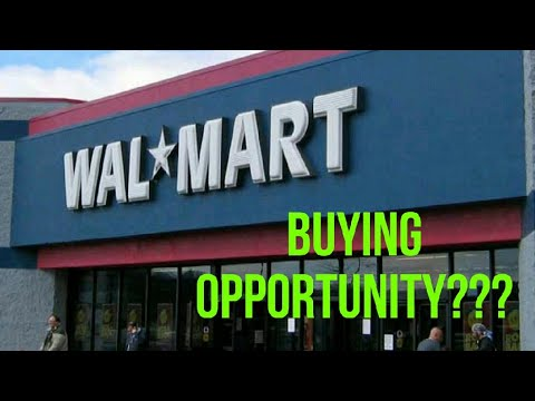 Walmart Stock : Buy the Dip?