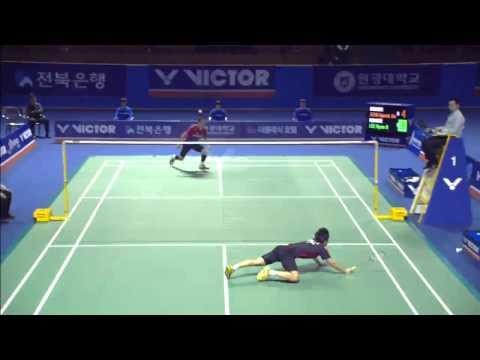Jeonju Victor Korea Masters 2015 | Badminton SF M3-MS | Jeon Hyeok Jin vs Kee Hyun IL
