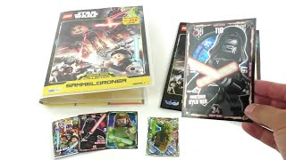 LEGO Star Wars Trading Card Collection Serie 1 - Starter Pack unboxing
