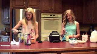 Smoothie Challenge with Paige & Chloe