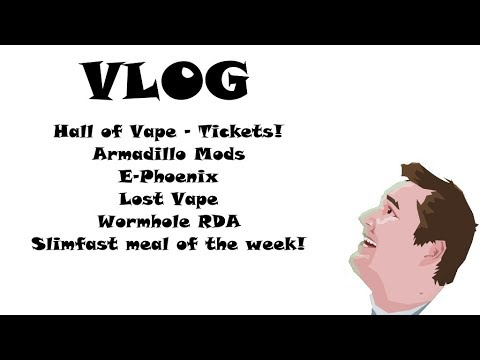 Vlog 20180426 - Hall of Vape Stuttgart - 5 free tickets!