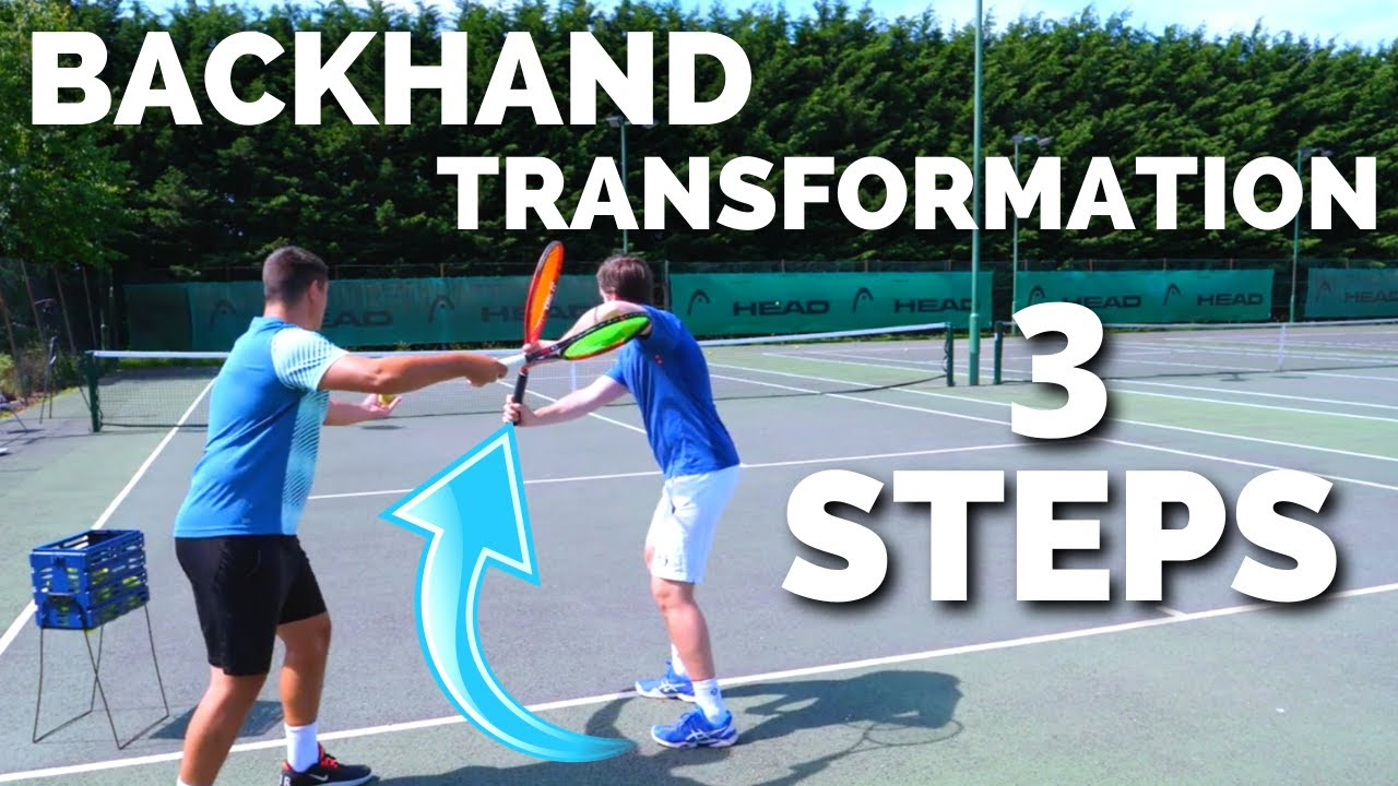 Tennis One Handed Backhand Transformation - 3 Steps To The Perfect ATP Modern Backhand