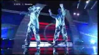 The Ultimative Human Robot Dance (World Best 2009)