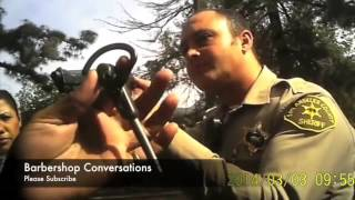 Trigger Happy Los Angeles Cop Pulls His Gun On A Private Investigator n Points at his Head!