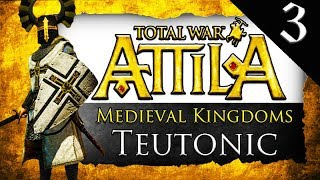 BALTIC ALLIANCE Medieval Kingdoms Total War Attila Teutonic Order Gameplay 3