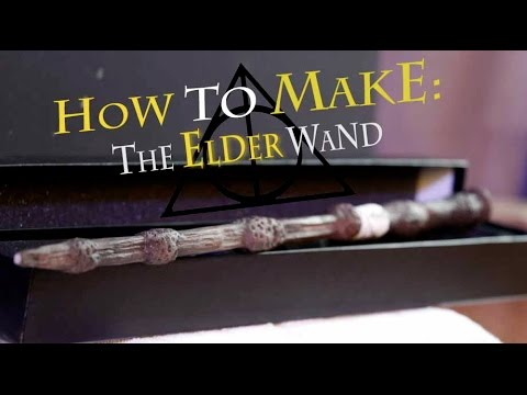 How to Make: The Elder Wand (Harry Potter)