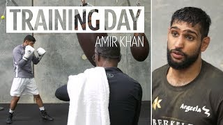 Training Day: Amir Khan prepares for Terence Crawford