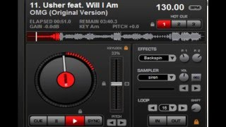 DJ GMARGGS SAMPLE VIDEO TWO - VIRTUAL DJ - VDJ - EXAMPLE