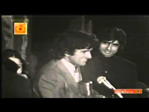 Amitabh Bachchan Live (Rare)