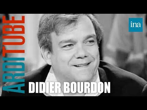Interview fin de phrase Didier Bourdon - Archive INA