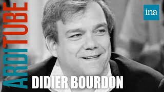 Interview fin de phrase Didier Bourdon - Archive INA