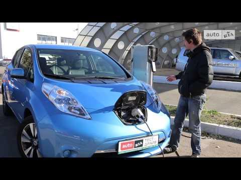 Тест-драйв электрокара Nissan Leaf от AUTO.RIA