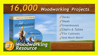 Easy Woodworking Projects - Furniture Plans - Over 16000 Plans Review