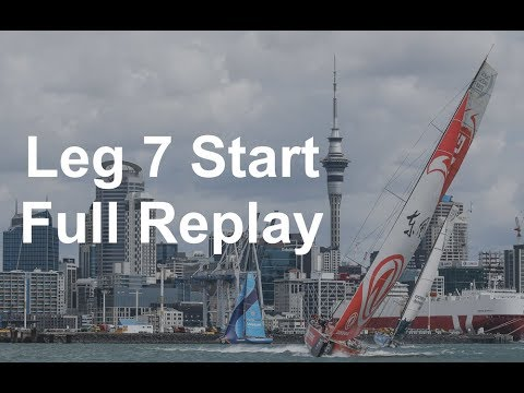 Leg 7 Start – Auckland to Itajaí – Full Replay | Volvo Ocean Race