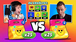 *omg* 150x PIN gezogen - 50x PIN PACK OPENING BATTLE gegen MarvinVlogt • Brawl Stars deutsch