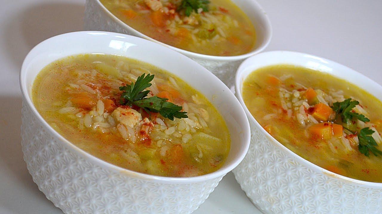 Image result for شوربة الأرز بالدجاج