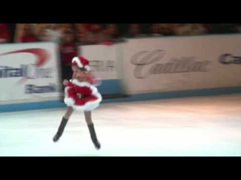 5 year old Katarina skates to Mariah...
