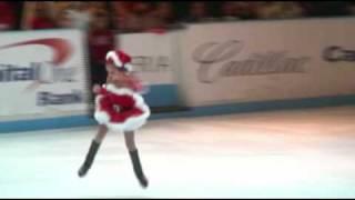 5 year old Katarina skates to Mariah Carey