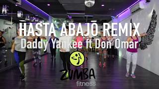 Hasta Abajo Remix - Daddy Yankee ft Don Omar by Cesar James Zumba Cardio Extremo Cancun