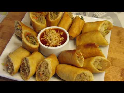 How to Make Yummy Spring Rolls - Thai Style living abroad