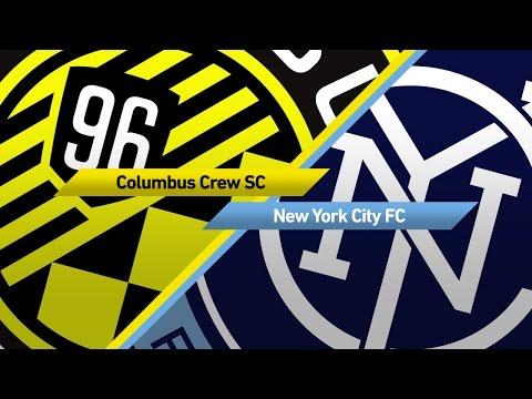 Highlights: Columbus Crew SC vs. New York City FC   April 29, 2017