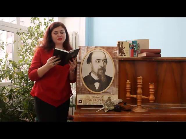 Изображение предпросмотра прочтения – МаринаГранкина читает произведение «Вчерашний день, часу вшестом…» Н.А.Некрасова